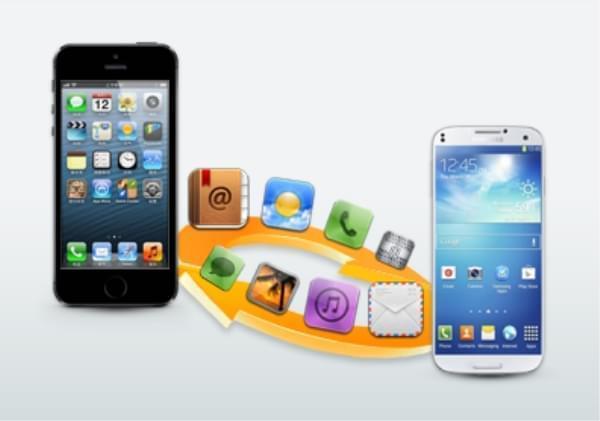 kontakter fra iphone til samsung